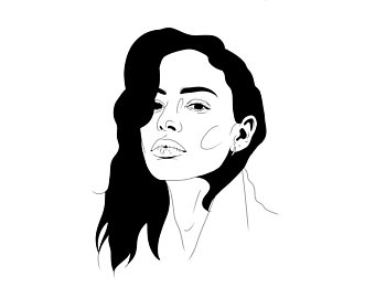 340x270 Portrait Drawing Etsy