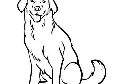 440x330 labrador coloring pages, black labrador colouring pages