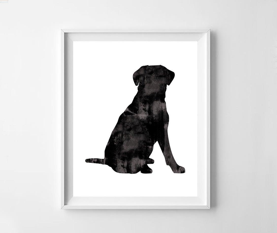 1091x916 labrador black labrador printlabrador labrador printable etsy