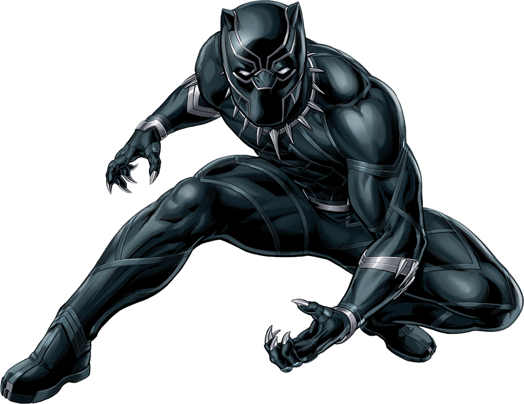1023x789 Black Panther Logo Iron On Transfers