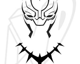 340x270 Black Panther Mask Etsy