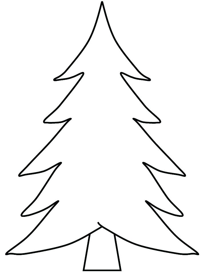 714x952 Coloring Pages Christmas Tree Coloring Pictures Pages Printable