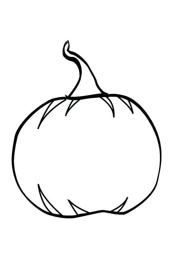 634x900 Blank Pumpkin Coloring