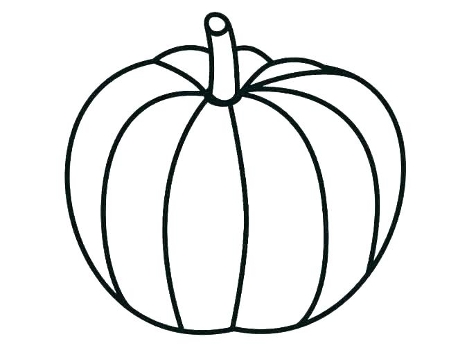 687x515 Pumpkin Coloring Pages To Print