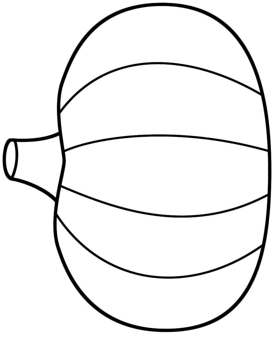 954x1157 Blank Pumpkin Coloring
