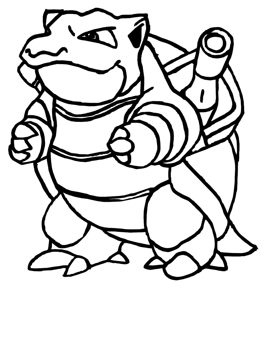 Blastoise Drawing | Free download on ClipArtMag