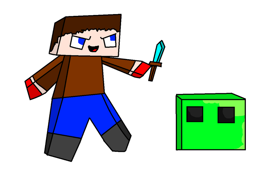 900x607 my failed atept at drawing minecraft