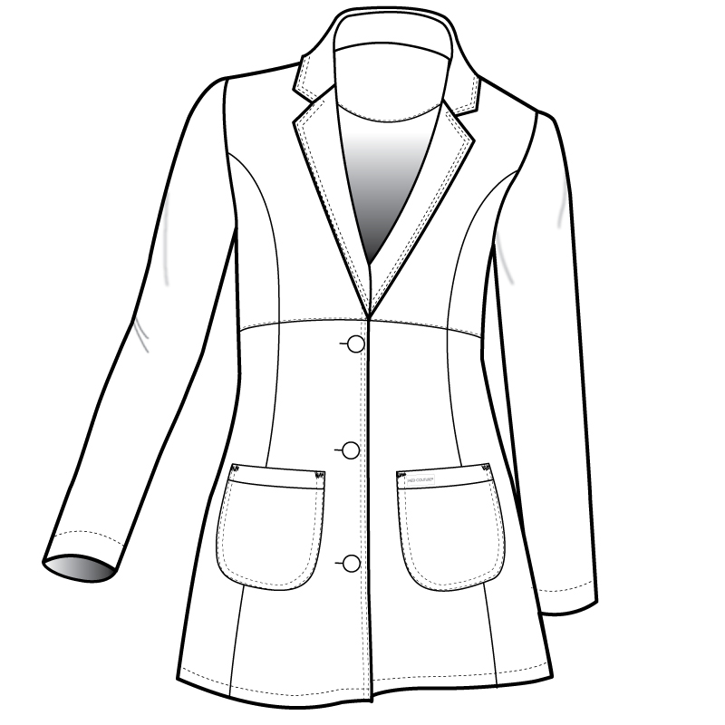 800x800 coat drawing womens coat for free download