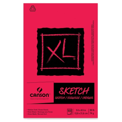 400x400 Canson Xl Sketch Pads