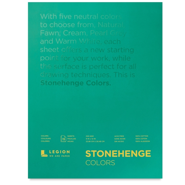 600x600 Legion Stonehenge Drawing Paper Pads