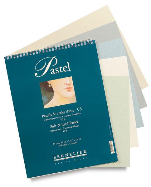 484x600 Sennelier Pastel Spiral Pad