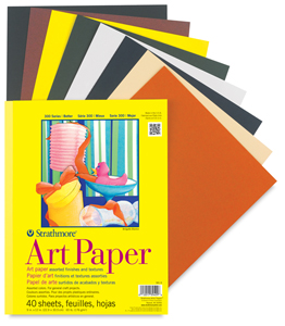 262x300 Strathmore Series Colored Art Paper Pads, Drawing