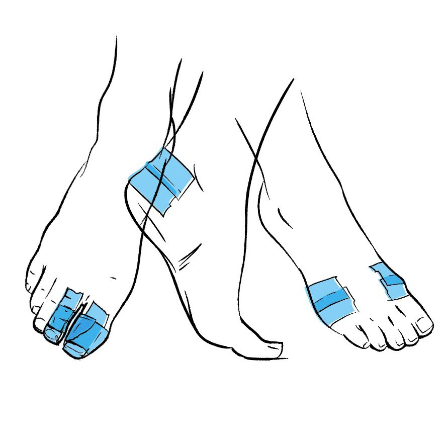 881x881 How To Tape Your Feet If You Get Blisters From Running