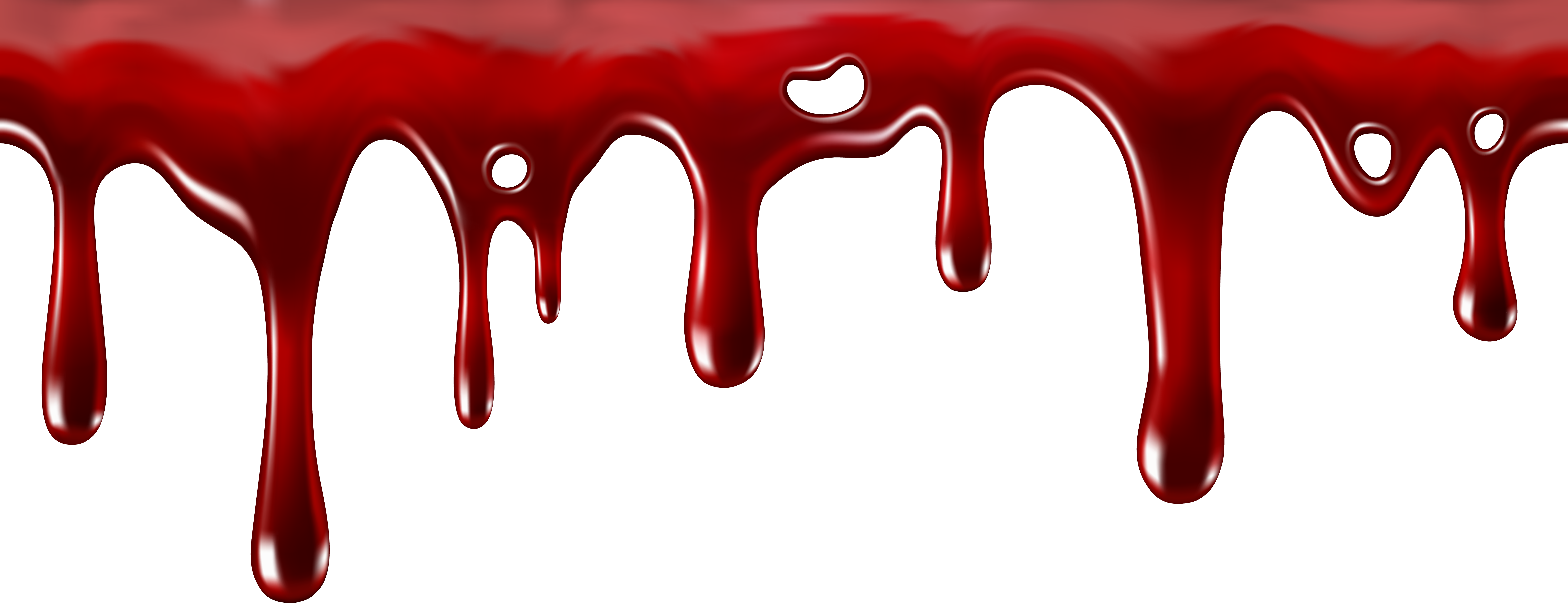8000x3138 Films In Blood Art, Drip Art