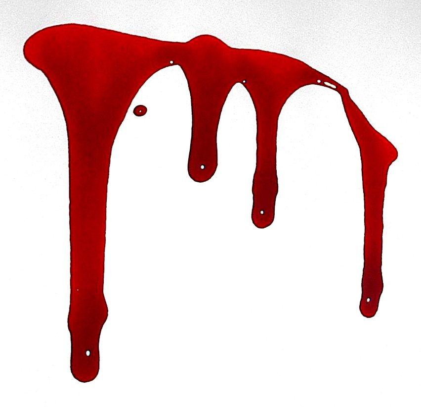 852x822 Blood Dripping Transparent