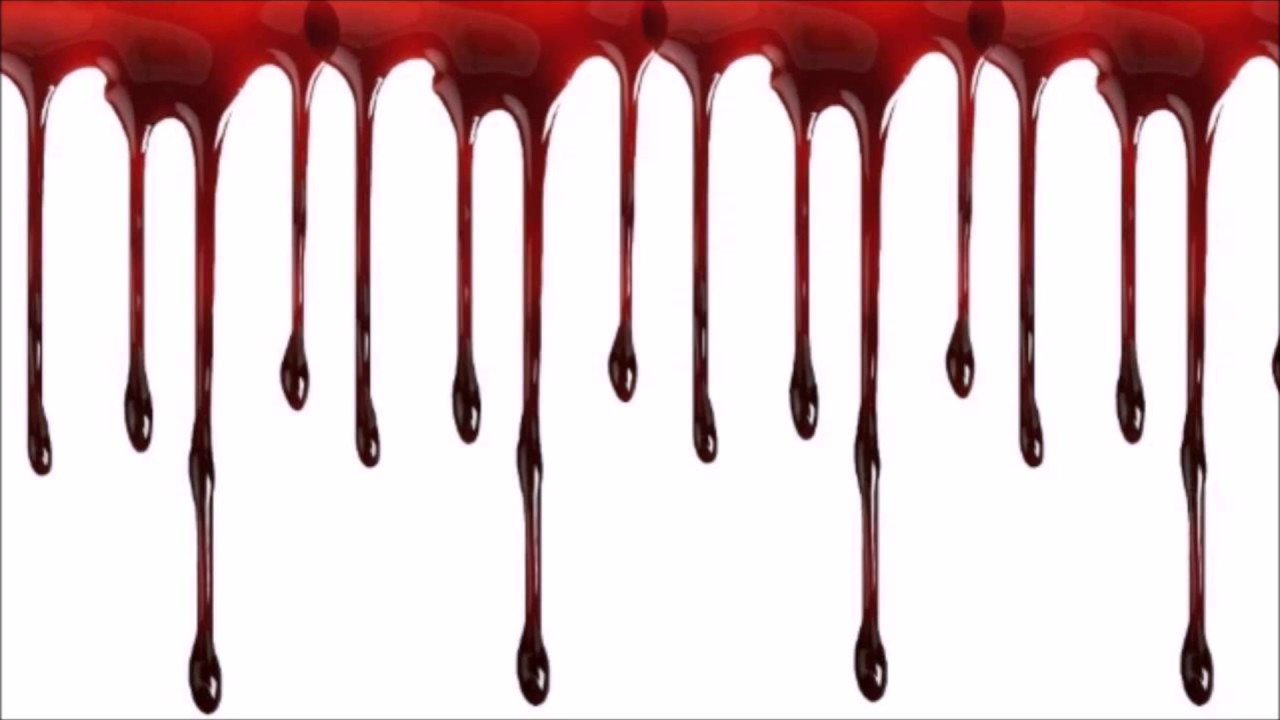 1280x720 Blood Dripping Drawing