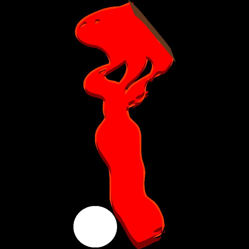 Blood Splatter Drawing