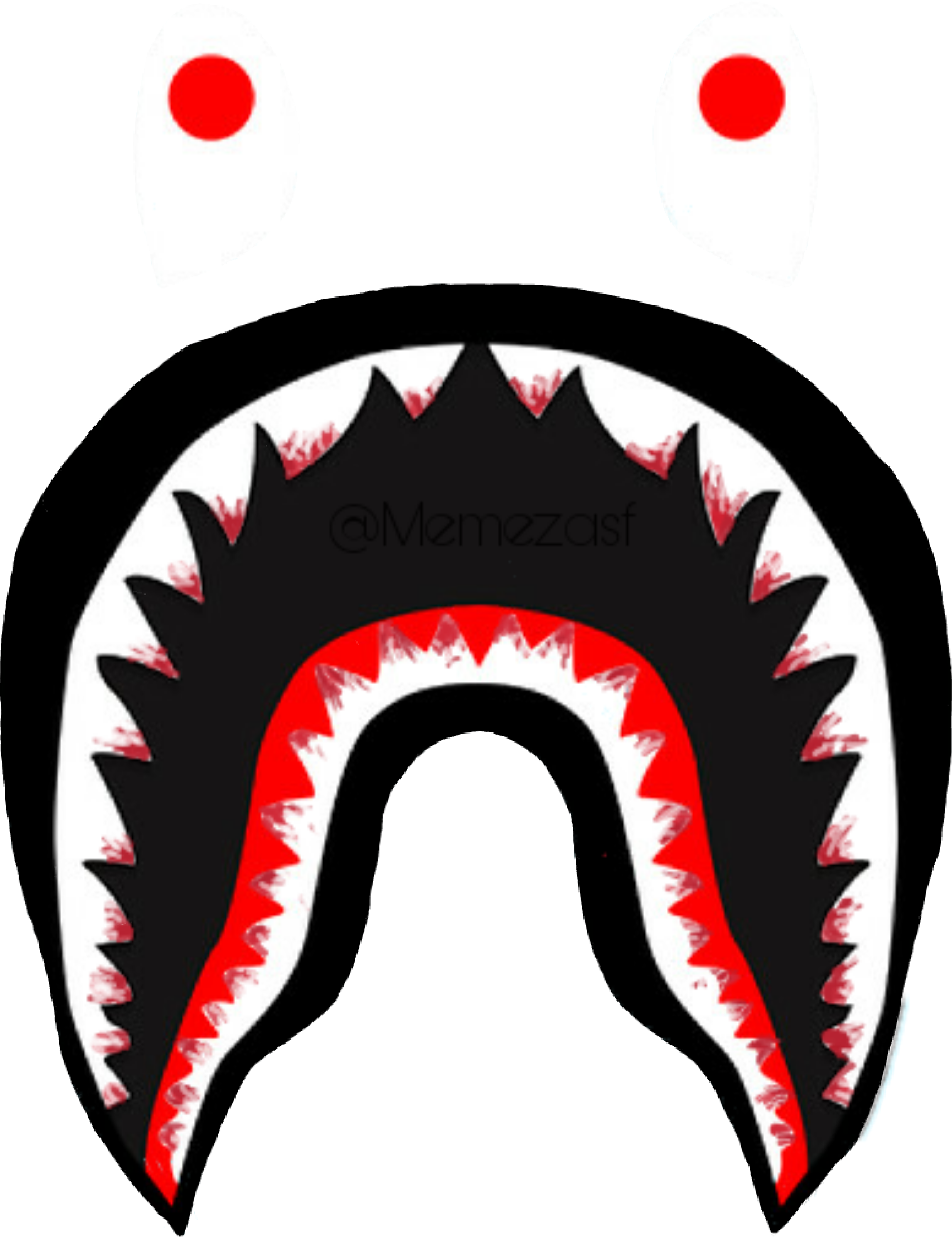 1729x2247 Collection Of Free Bape Drawing Shark Download On Ui Ex