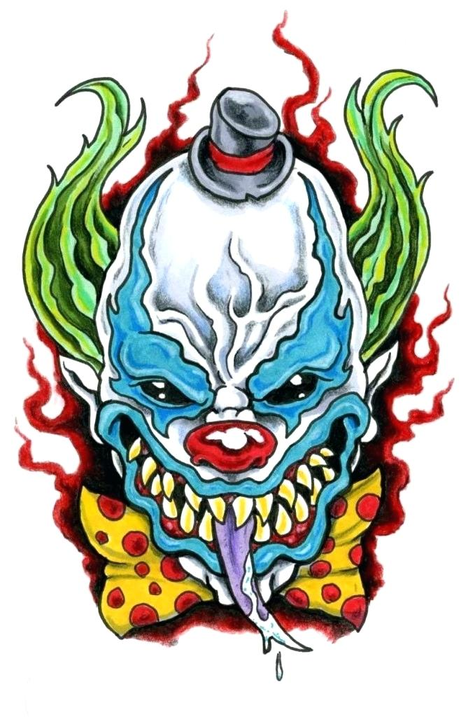 669x1024 draw evil clown evil clown bloody how to draw scary clown faces