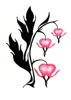 236x331 Drawing Of A Bleeding Heart Troller Us