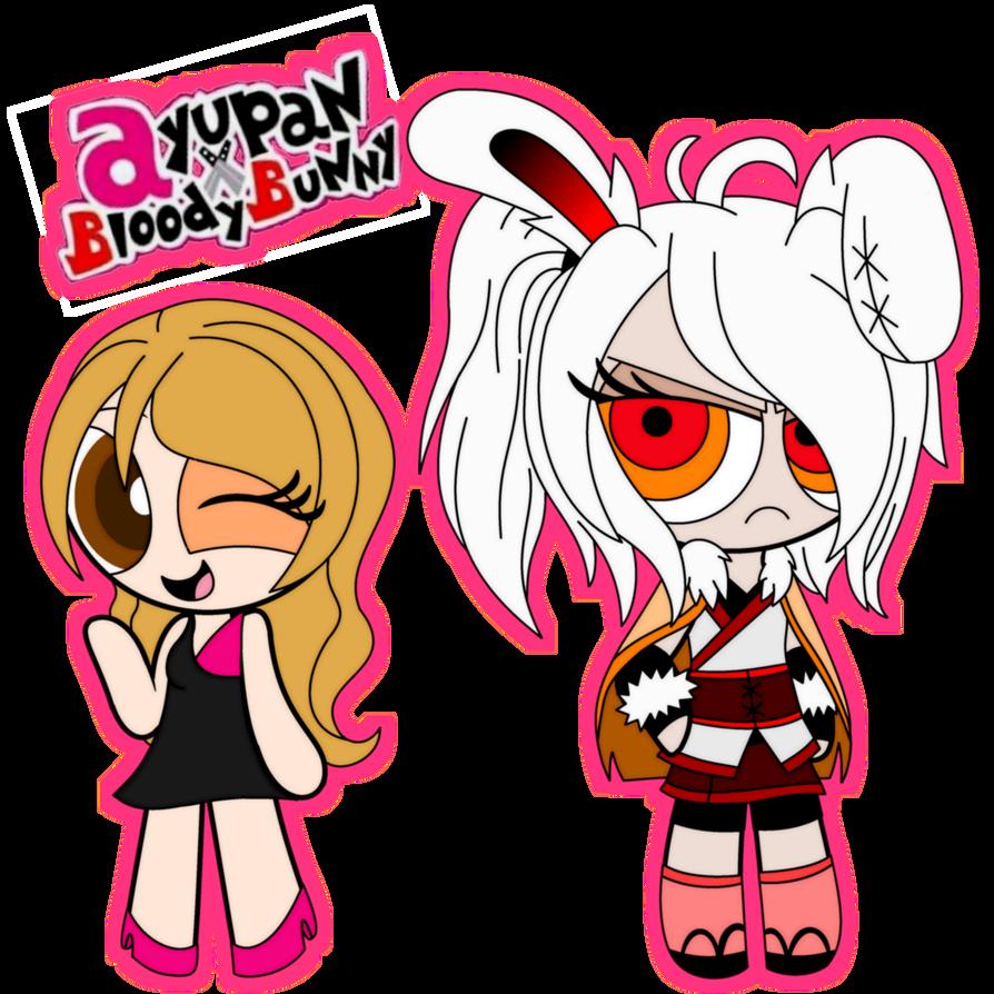 894x894 Puffed Ayupan X Bloody Bunny