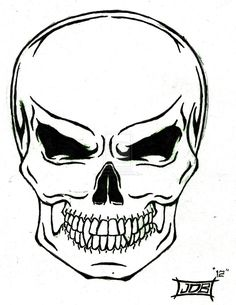 236x305 awesome simple skull tattoos images drawings, skull, skull