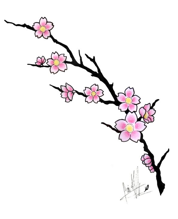 Blossom Drawing