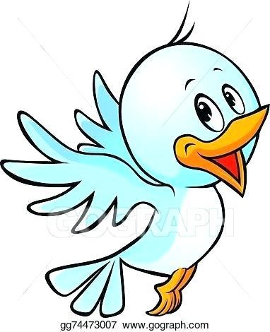 382x470 bird drawing cartoon cute blue bird flying cartoon cartoon bird