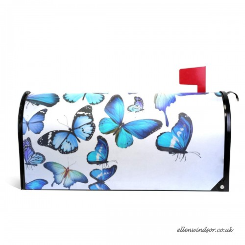 500x500 Coosun Blue Butterfly Colorful Drawing Art Beautiful Magnetic
