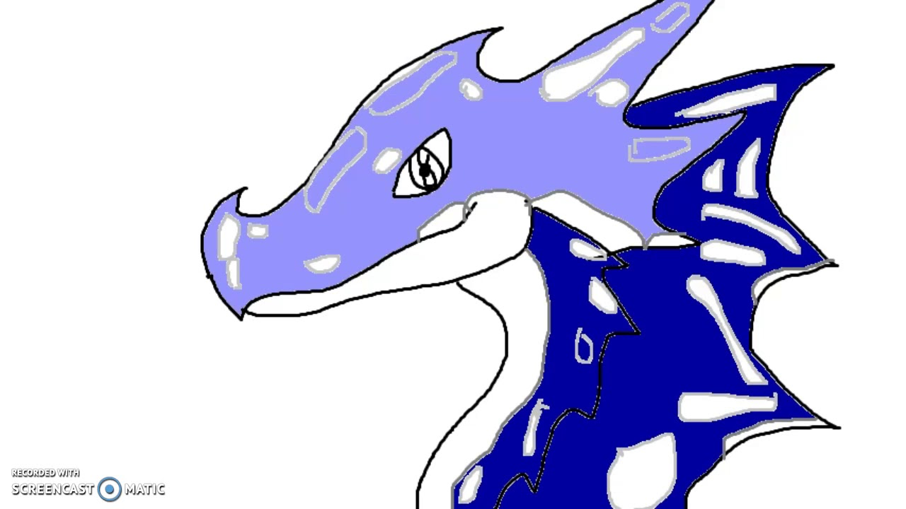 1280x720 How To Draw Water Dragonlearn To Draw