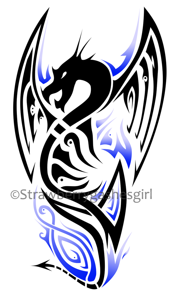 598x1000 dragon tatoos dragon tattoo design blue dragon tattoos tattoos