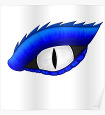 210x230 Blue Eyes White Dragon Drawing Posters Redbubble