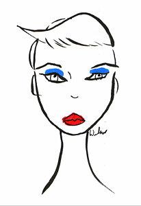 206x300 Blue Eyes Drawings