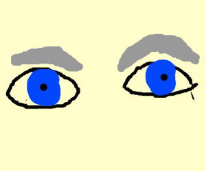 300x250 Old Blue Eyes Drawing