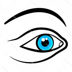 300x300 Woman Face Closed Eyes Hand Drawing Lazttweet