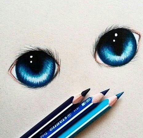 465x446 Blue, Blueeyes, Colors, Cute, Disney, Draw, Draws, Eyes, Fantastic