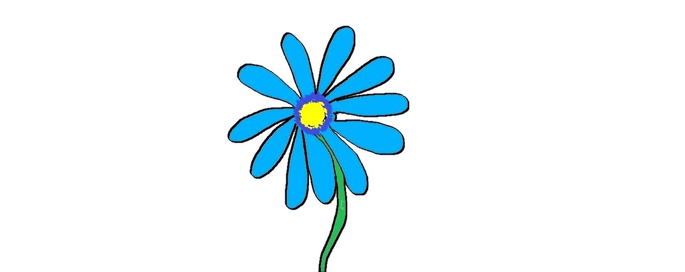 1359x540 Flower Drawing Easy Easy Kids Drawing Lessons How To Draw Flower