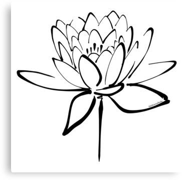 365x360 Lotus Flower Calligraphy