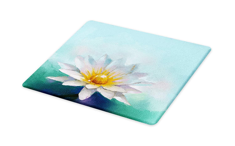 1500x934 Lunarable Flower Cutting Board, Detailed Impressionist