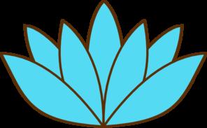 296x183 Blue Lotus Flower Drawing