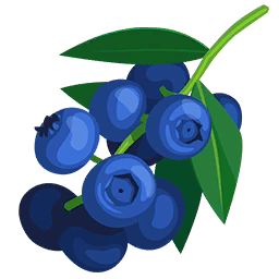 Blueberry Pie Drawing