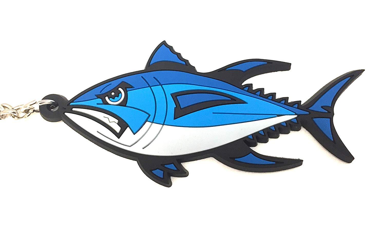 1500x878 bluefin tuna fishing saltwater fish keyring keychain