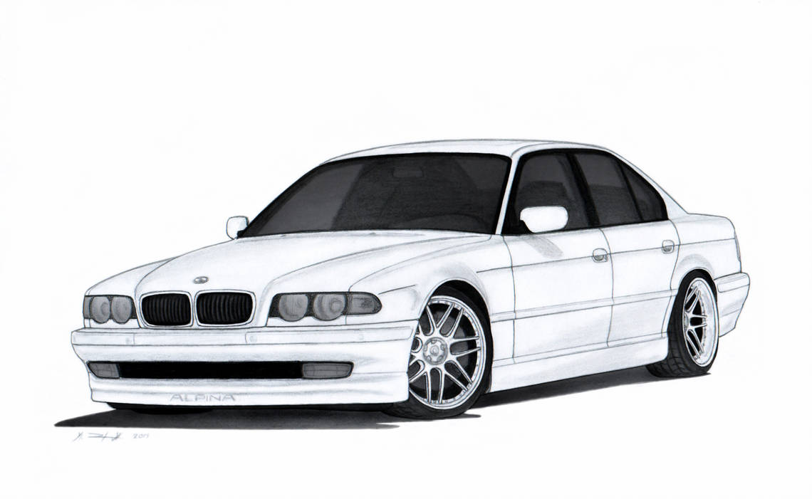 Bmw Car Drawing Free Download Best Bmw Car Drawing On