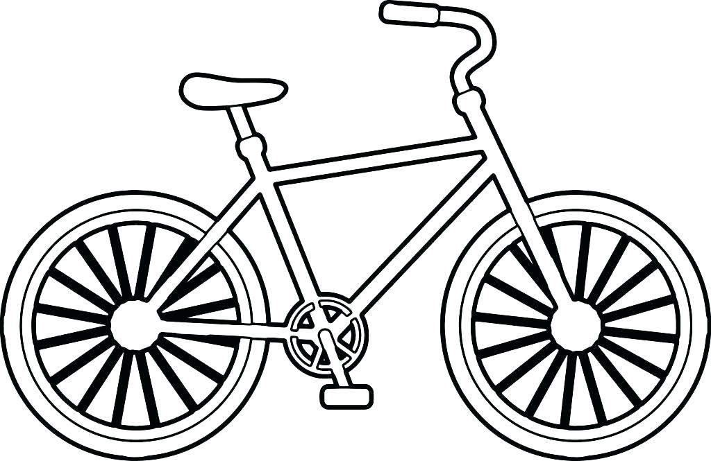 1024x665 bmx coloring coloring pages coloring pages bicycle coloring pages