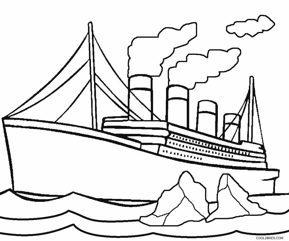 Boat Drawing Easy