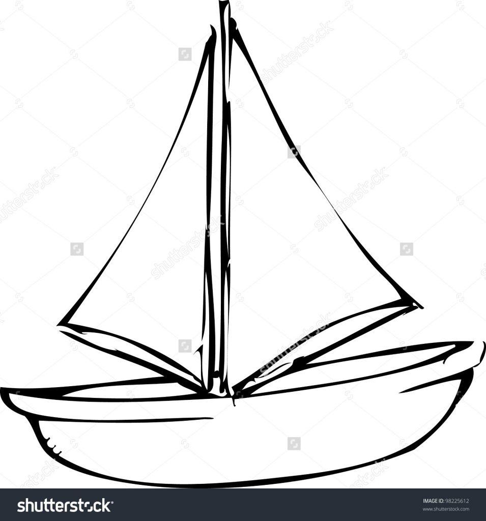 955x1024 boat drawing save boat drawing simple drawing boat drawing sketch