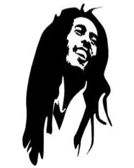 272x340 Bob Marley Ii Sticker For Car Buy Online