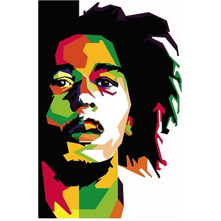320x320 Bob Marley Cartoon Art