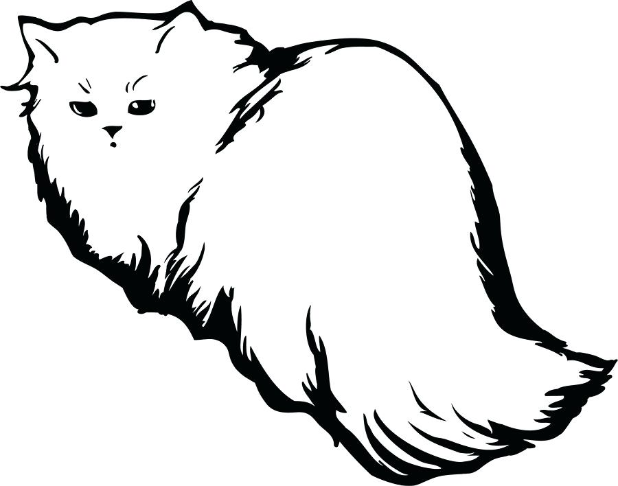 900x708 outlines of cats contest entry for design several cat outlines