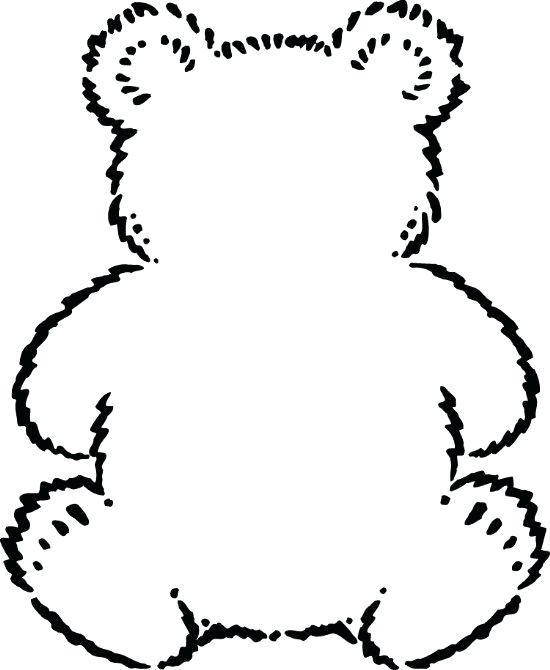 550x670 teddy bear outline teddy bear drawings teddy bear with love stock